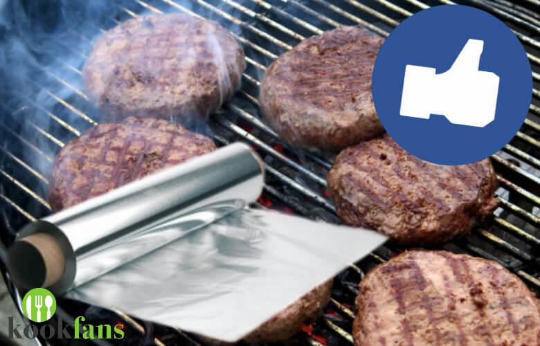 barbecue aluminiumfolie