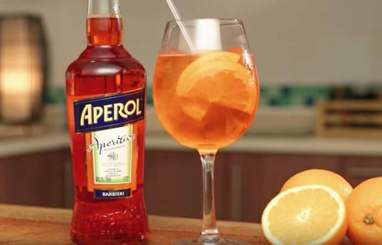 Aperol Spritz sinaasappel