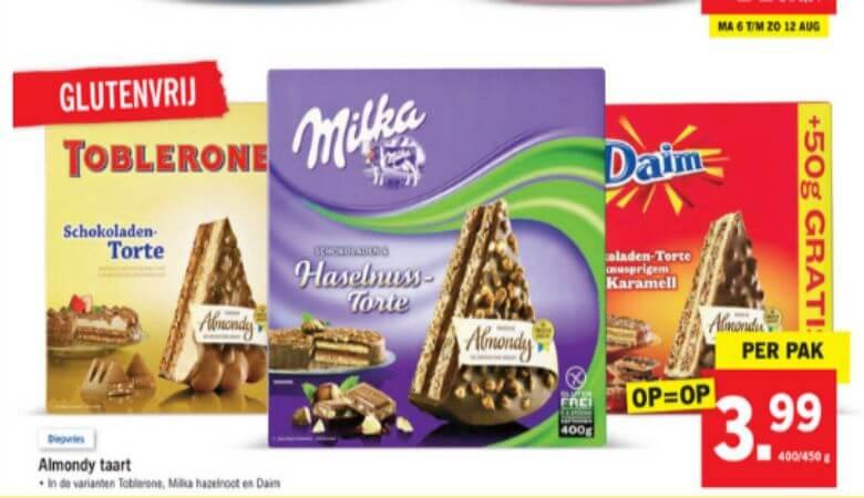 Lidl chocoladetaarten