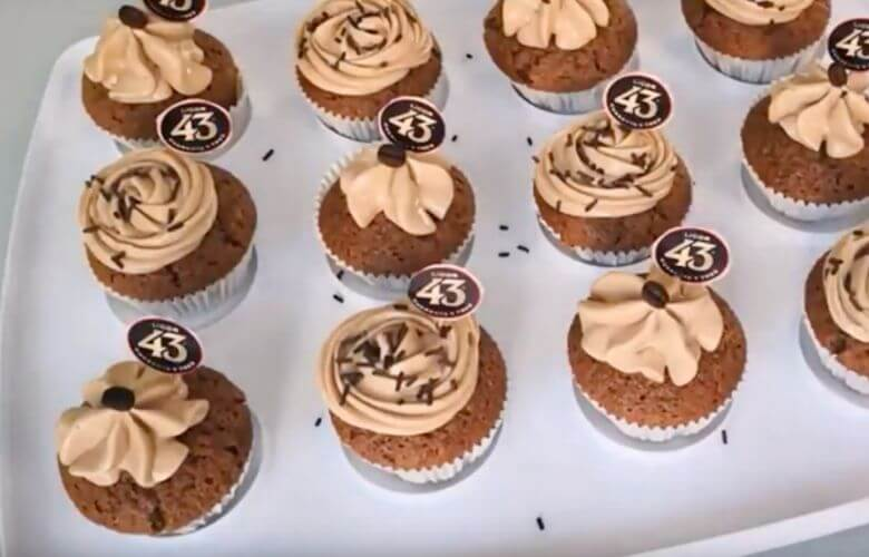 koffie-chocolade cupcakes licor 43