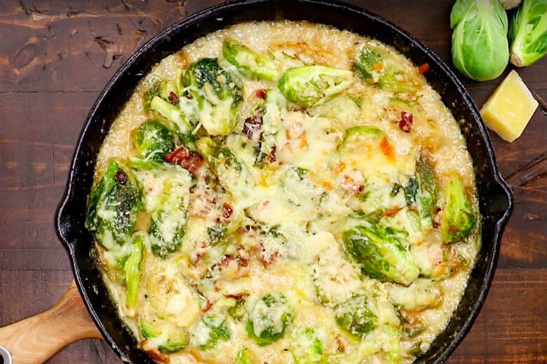 spruitjesgerecht met broccoli en kaas
