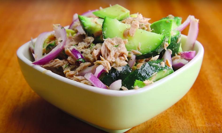 tonijn-komkommersalade