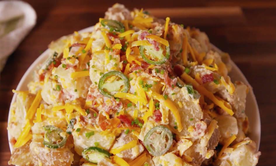 aardappelsalade bijgerechten